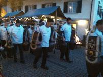 Eine Atraktion; Die Trichler beehrten uns mit ihren wunderschönen Glocken und deren Klang