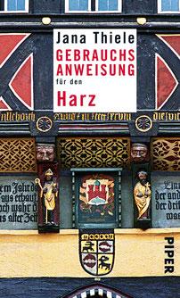 """Buchcover """"Gebrauchsanweisung für den Harz"""""""