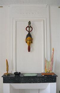 Masque de réjouissance de l'ethnie Gouro - Art ancien d'Afrique noire - Espace Philippe Artidor
