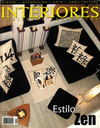 Interiores Magazine Cover.