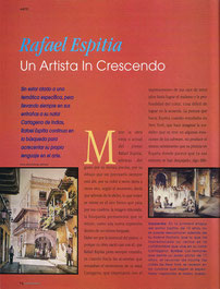 Rafael Espitia, un artista in crescendo