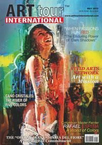 ArtTour International Magazine Cover.