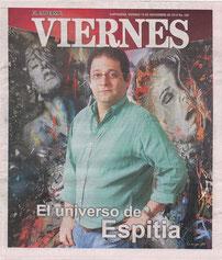 El trabajo del maestro Espitia es constante, hace algún tiempo decidió partir de Cartagena para emerger con su obra desde Bogotá, pero fue apenas un peldaño para que se diera a conocer con total aceptación en Estados Unidos...