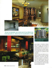 Interiores Magazine. 3D Visualization Rafael Espitia.