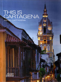 THIS IS CARTAGENA, Cartagena de Indias Book.  Local paintersRafael Espitiay Marta Sánchez set up their home here some years ago, and the city inspires all their work. They create a reality built from contrasts to portray their perception of daily life,