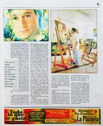 Viernes Magazine. Rafael Espitia, Perfil de un artista