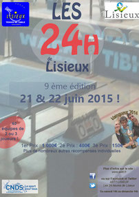 Affiche des 24 Heures 2015 - 9 ème édition