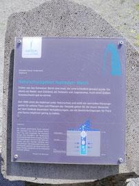 Info-Tafel am Geysir: Namedyer Werth