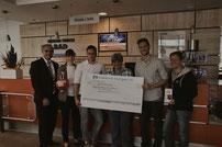 Robin Bellmann & Tim Schneider spenden für Waisenkinder in Kathmandu Robingrafie