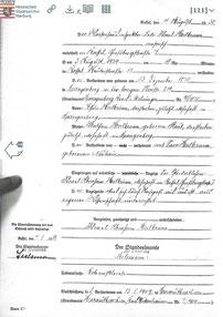 Todesanzeige Levi Heilbrunn