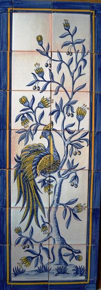 """Paradiesvogel 1"" Art.-Nr.: PN-138, 1,20x42cm"