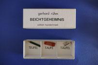 Gerhard Rühm Beichtgeheimnis Edition Hundertmark