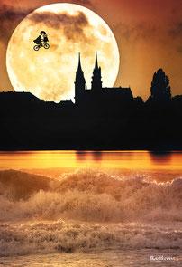 """Poster """"Basel isch anderscht"""" 30x44cm"""
