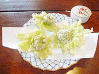 【春】ふきのとうの天ぷら