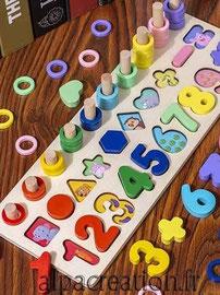 table d'activité Montessori