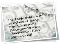 Sweet Baby Table Taufe bitte hier klicken!