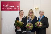 Der ehemalige Vorstand Ingeborg Brase, Claudia Erdmann, Silke Ahrens