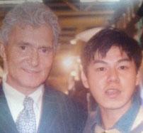 Nicky with Vidal Sassoon