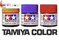 Tamiya Acryl Farben für Schiffsmodellbau