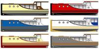 Bootsbaupläne für den Hobby-Bootsbau, Kajak, Motorboot, Segelboot, Kajütboot, Flachwasserboot, Kanadier, Ruderboot