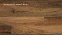 Holzart Nußbaum Parkett europäisch