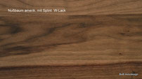 Holzart Nußbaum europäisch
