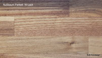 Holzart Nußbaum Parkett