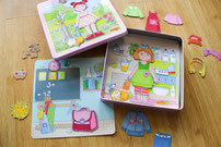 Haba Magnetspiel-Box Anziehpuppe Lilli Magnetpuzzle