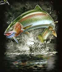 Sweat pêche de truite