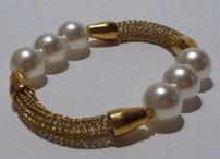 Armband in Drahtwebtechnik, Viking Knit