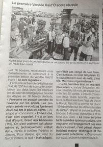 Ouest France du 19 juin 2013