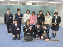 生徒たちと記念写真