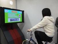 自転車交通ルール体験