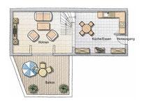 Grundriss Wohnung 7 OG2