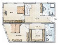 Grundriss Wohnung 7 OG1
