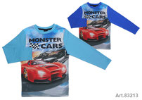 CAMISETA MONSTER CAR