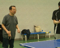 税理士会で卓球練習会