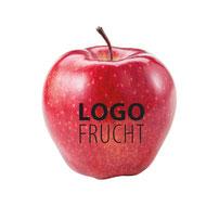 Logo Apfel, Apfel bedrucken, Logo Äpfel, Logo Obst, Obst bedrucken Apfel mit Logo, Werbe Apfel, Apfel bedrucken lassen, Werbemittel Apfel