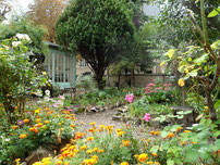 Le jardin du couvent des Sœurs de l'Adoration (5ème)