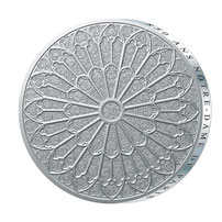 Médaille commémorative 850ème anniversaire de Notre-Dame de Paris.