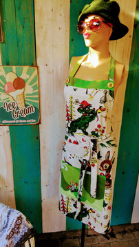 Schort recycling textile art textiel upcycling
