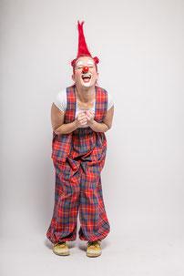 Kindergeburtstag mit Clownin Popolina