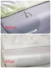 豊橋、豊川の車の内装修理