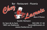 Chez Lacroix - Pizzeria aux Diablerets
