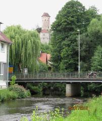 07/17: In Neuhaus mit der Pegnitz und Burg Veldenstein