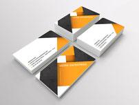 Cartes de visites imprimées par RBS86, à Poitiers