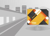 Affiche 4x3m imprimée par RBS86, à Poitiers