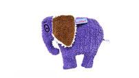 Elefant Konrad - das handgefertigte Kuscheltier vom Kuschelwerk aus Vintage Frottee Stoffen