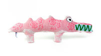 Krokodil Ludwig - handgefertigt aus Frottee Stoffen, jedes ein Unikat