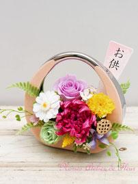 Fuka 風花 ふうか プリザーブドフラワーのお供え花